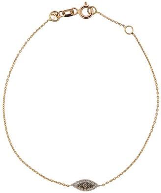 Kismet by Milka 14kt Rose Gold Diamond Eye Bracelet