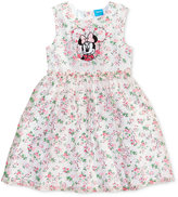 Disney Disney's® Minnie Mouse Floral-Print Dress, Toddler & Little Girls (2T-6X)