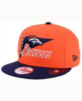 New Era Denver Broncos Logo Stacker 9FIFTY Snapback Cap