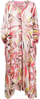 Emilio Pucci Bes print beach dress