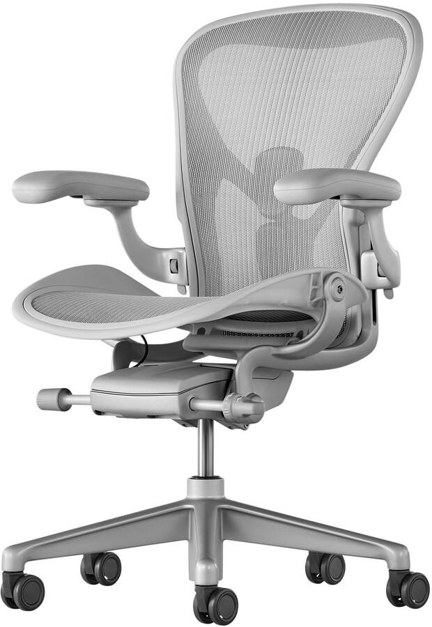 Herman Miller Aeron Office Chair, Mineral