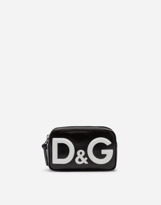 Dolce & Gabbana Coated Canvas Belt Bag With Logo
