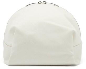 Bottega Veneta Jacquard Cosmetics Case - White