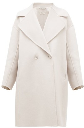 Max Mara S Savana Coat - Womens - Light Grey