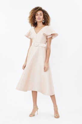 Coast Belted Full Midi Dress