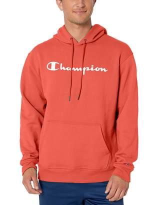 Champion Men's Graphic Powerblend Fleece Pullover Hood