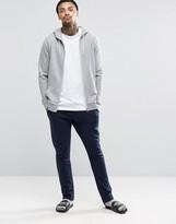 Asos Loungewear Slim Joggers In Navy