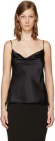 Protagonist Black 15 Draped Camisole