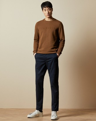 Ted Baker Printed Cotton Chinos
