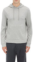 James Perse Men's Double-Faced Cotton-Blend Hoodie-GREY
