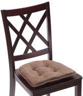 Klear Vu Tufted Embrace Gripper® Chair Pad in Chocolate