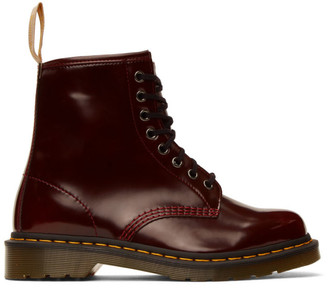 Dr. Martens Red Vegan 1460 Boots