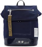 Kenzo Blue Pull-Tab Backpack