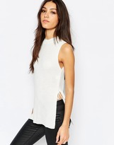 Daisy Street Knitted Tunic Tank Top