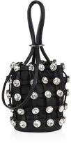 Alexander Wang Roxy Leather Mini Bucket Bag