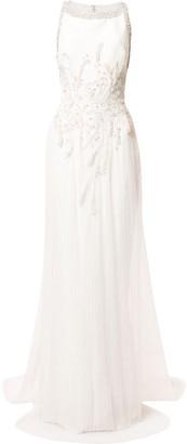 Saiid Kobeisy Crystal Embellished Gown
