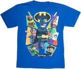 Novelty T-Shirts Boys Batman Graphic T-Shirt-Big Kid