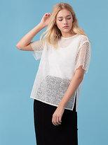 Diane von Furstenberg Lace T-Shirt