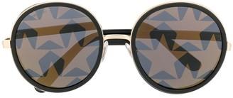 Jimmy Choo Andie round-frame sunglasses