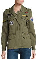 Velvet by Graham & Spencer Andreea Patch Cotton Army Jacket