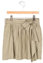 Chloé Girls' Belted Bow Skirt w/ Tags