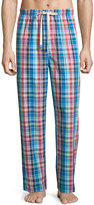 Original Penguin Plaid Woven Lounge Pants, Multi