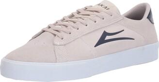 Lakai Footwear Newport White/Navy SUEDESize 6 Tennis Shoe Suede 6 Standard US Width US