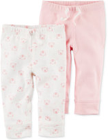 Carter's 2-Pk. Cotton Thermal Pants, Baby Girls (0-24 months)