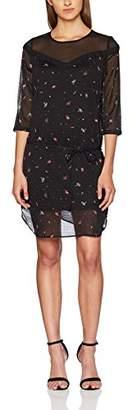 Garcia Women's H70284 Dress, (Black 60), (Size of : S)
