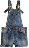 Sean John Denim Overall Shorts, Big Girls (7-16)