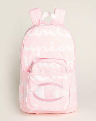 Champion Girls) Two-Piece Pink Backpack & Lunch Kit Set