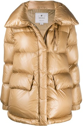 Woolrich High-Neck Padded Coat