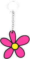 Christopher Kane daisy keyring - women - Steel/Brass/Silicone - One Size