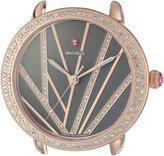 Michele Women's Serein Mid 16mm City Lights Rose Gold Diamond Gold