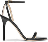 Jimmy Choo Minny Leather Sandals - Black