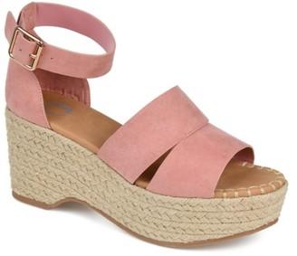 Journee Collection Takara Espadrille Wedge Sandal