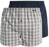 Schiesser 2 Pack Boxer Shorts Indigo