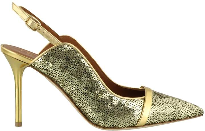 8509aa30c Malone Souliers Gold Shoes For Women - ShopStyle Canada