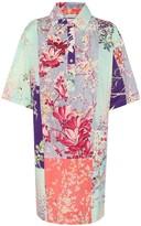 Etro Floral cotton shirt dress