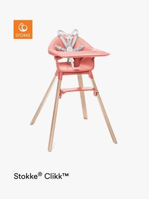 Stokke Clikk Highchair, Sunny Coral