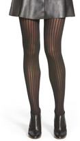 Wolford Pinstripe Opaque Tights