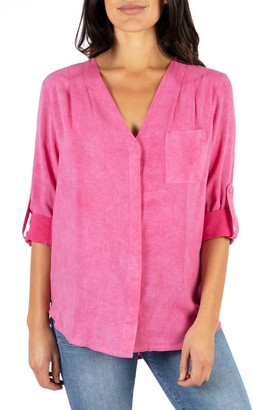 KUT from the Kloth Danica V-Neck Blouse