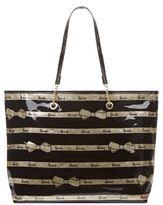Harrods Gold Bow Tie Shoulder Bag