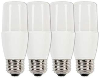 Westinghouse Equivalent Warm White T7 Dimmable LED Light Bulb with E27 Base, 60 W - Pack of 4
