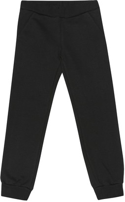 Fendi Kids Logo cotton-jersey trackpants