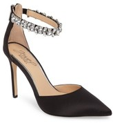 Badgley Mischka Women's Lizbeth Ankle Strap Pump