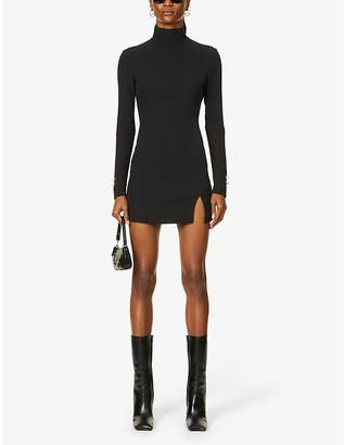 Aya Muse x Dani Michelle crepe mini dress