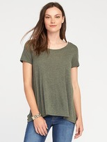 Old Navy Maternity Side-Split Scoop-Neck Top