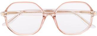 S'nob Miuccia oversized frame glasses