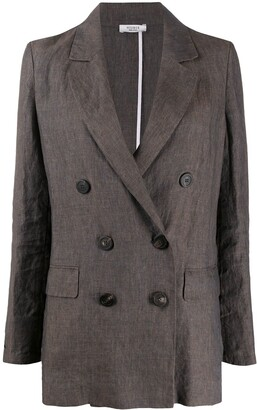Peserico Double Breasted Blazer